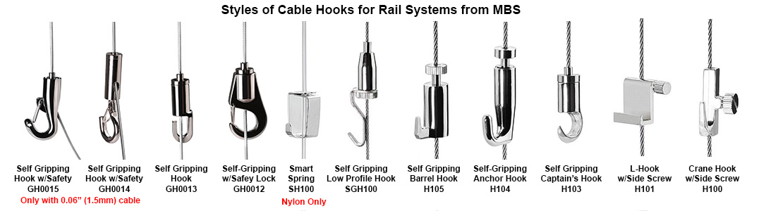 Picture Cable hooks from MBS-Standoffs