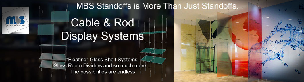Cable & Rod Display systems