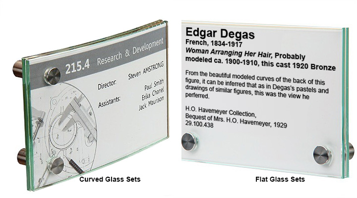 Sign Glass Sets from MBS