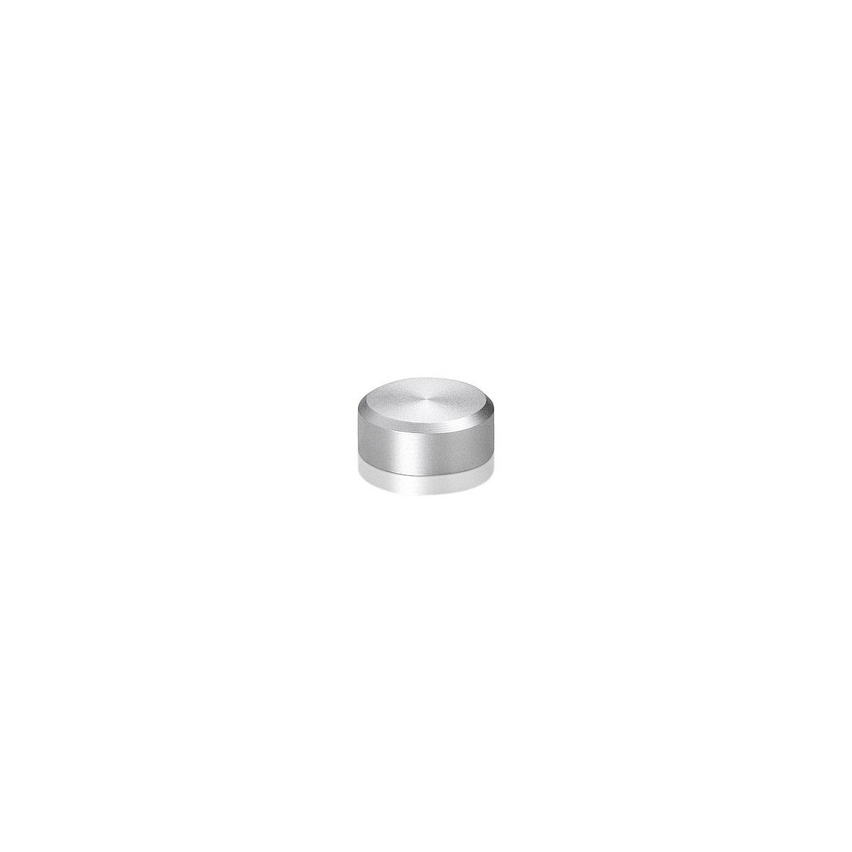 (4) CAP058025A, (4) S058-05025A Clear Anodized Aluminum