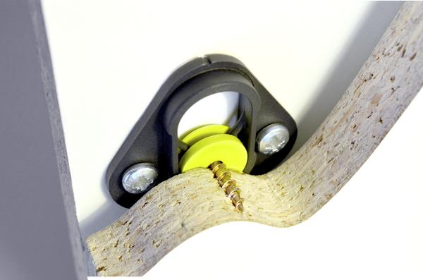 Type 1 Fix + Button for CSK wood screw
