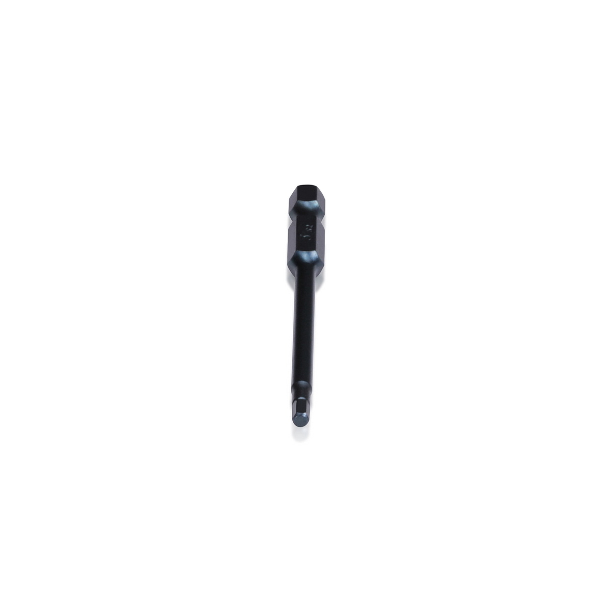 Hex Driver Bit 3.0mm, Length: 3 1/8