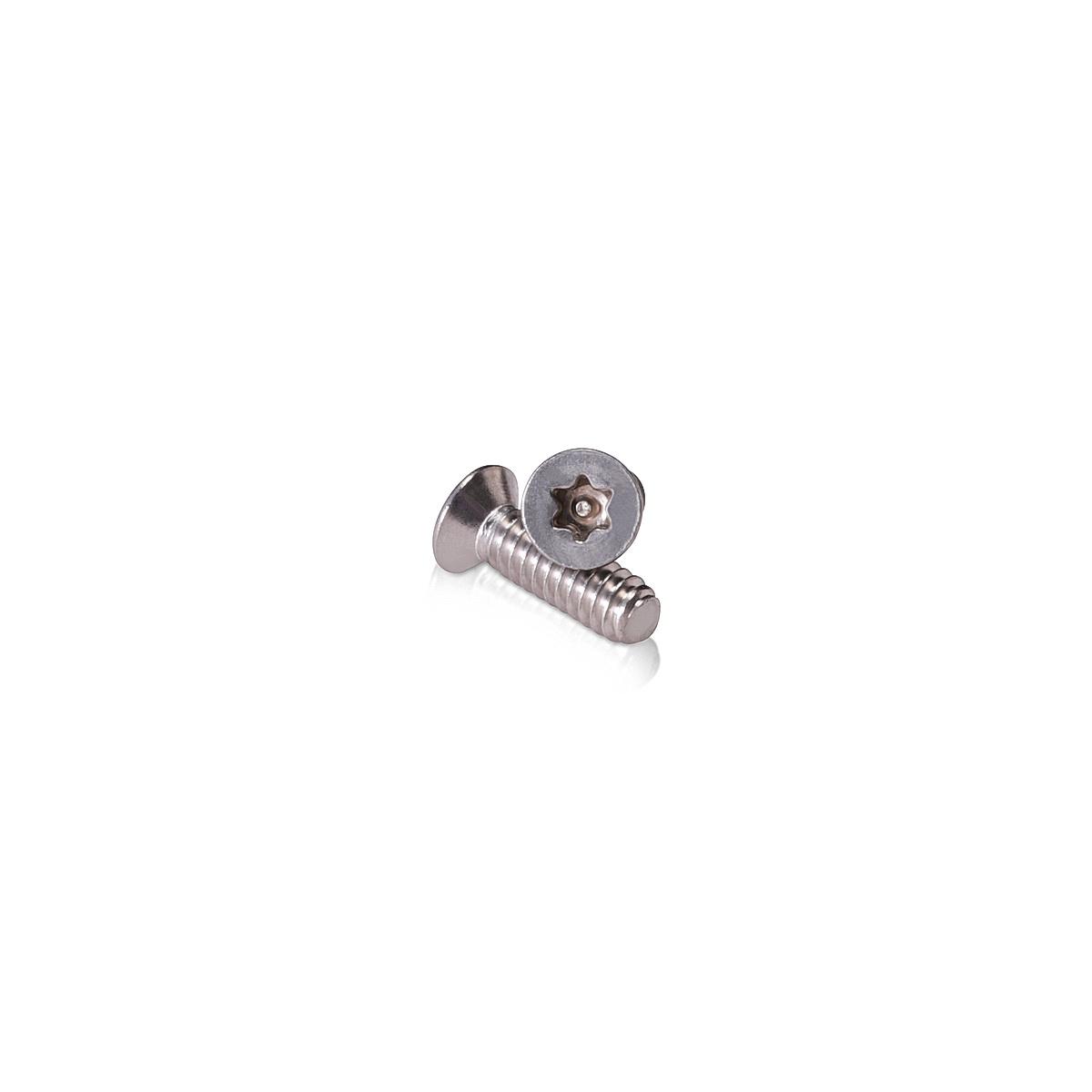 #10-24 x 5/8''   Torx   Flat Head   Machine Screws   Stainless Steel 18-8