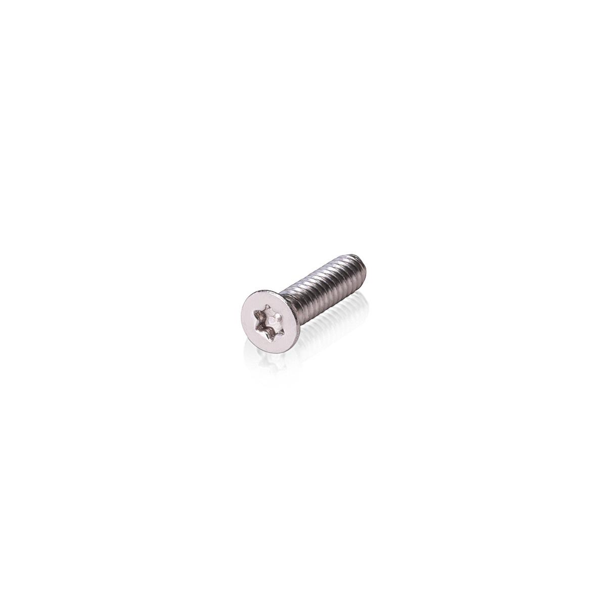 #10-24 x 3/4''   Torx   Flat Head   Machine Screws   Stainless Steel 18-8