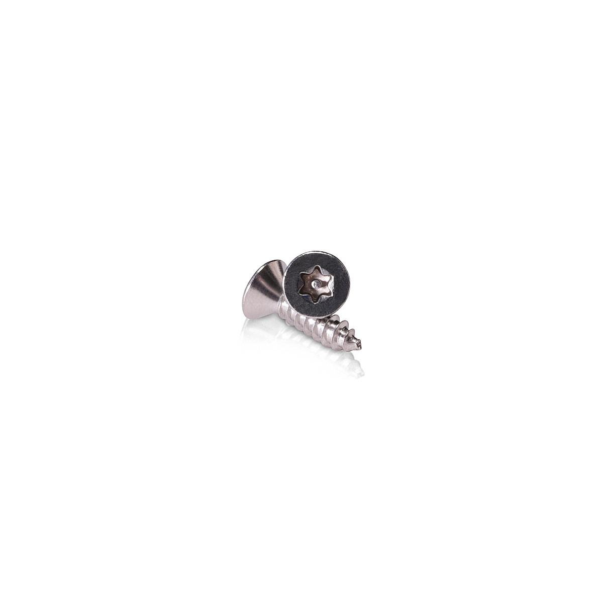 #8 x 5/8''   Torx   Flat Head   Sheet Metal Screws   Type: AB   Stainless Steel 18-8