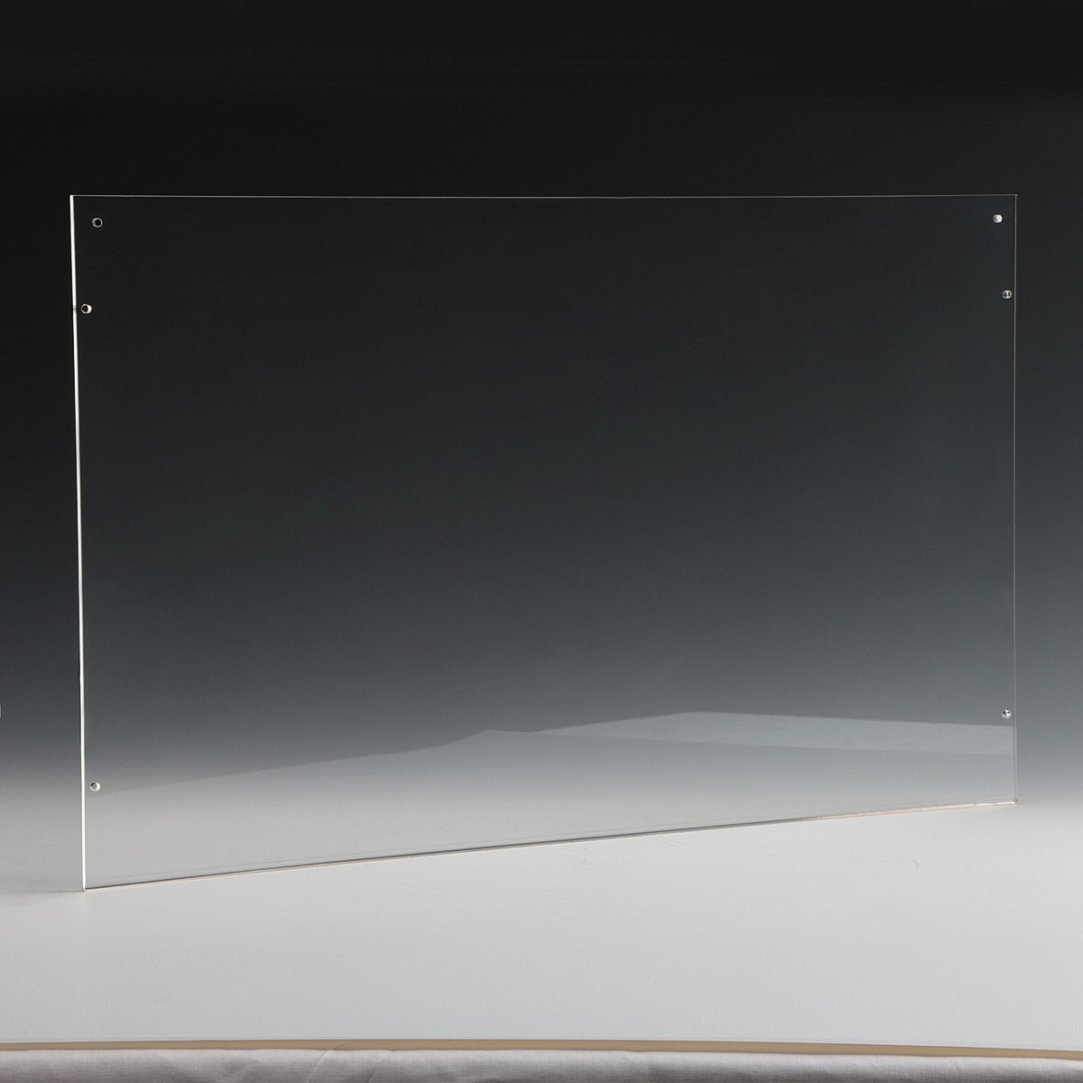 Clear Acrylic Wall Frame with magnets, accommodates 17 x 11 (Sold Without Hardware)