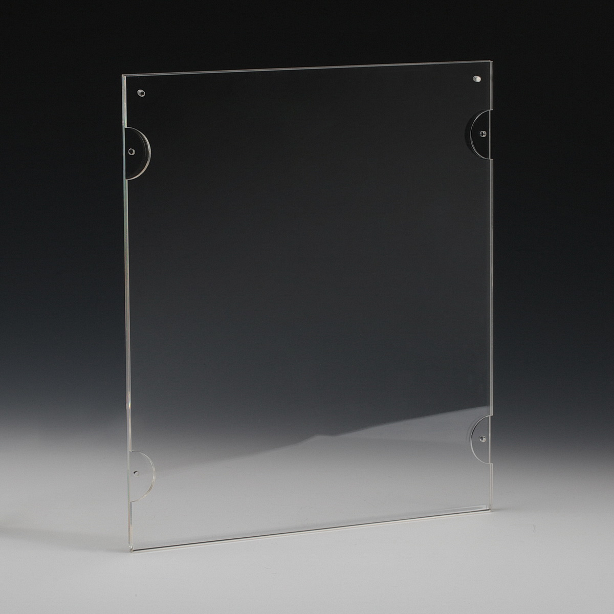 Clear Acrylic Frame for Media 8.5'' x 11'' (sold Without Hardware)