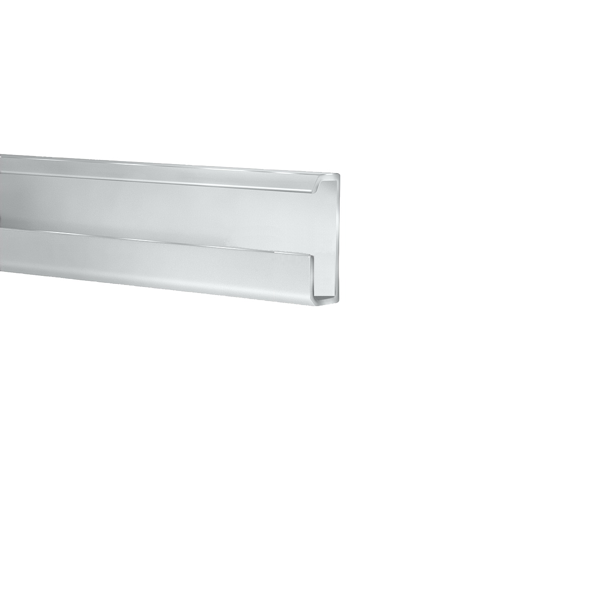 Classic Rail System, Clear Anodized Finish