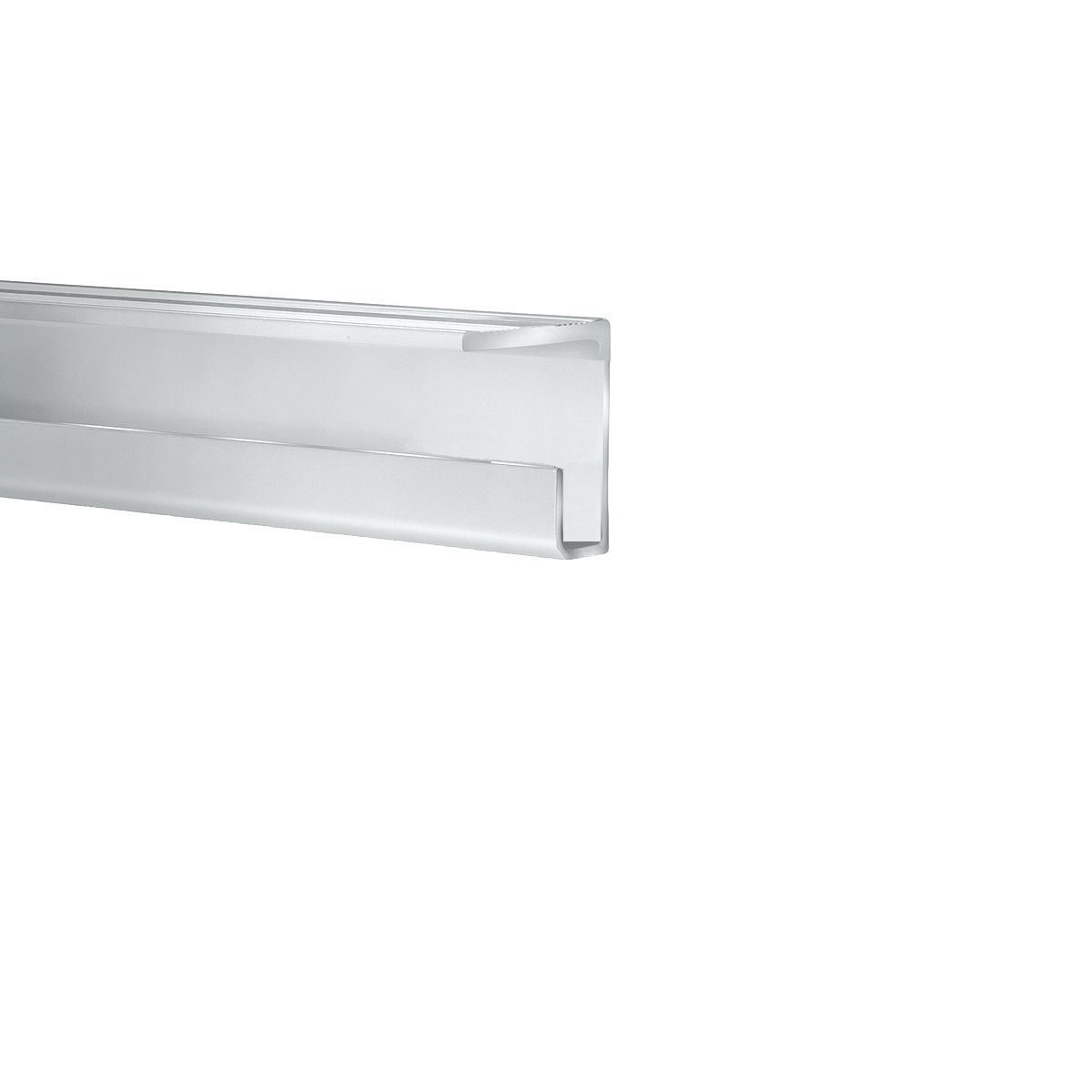 Ceiling Rail System, Clear Anodized Finish