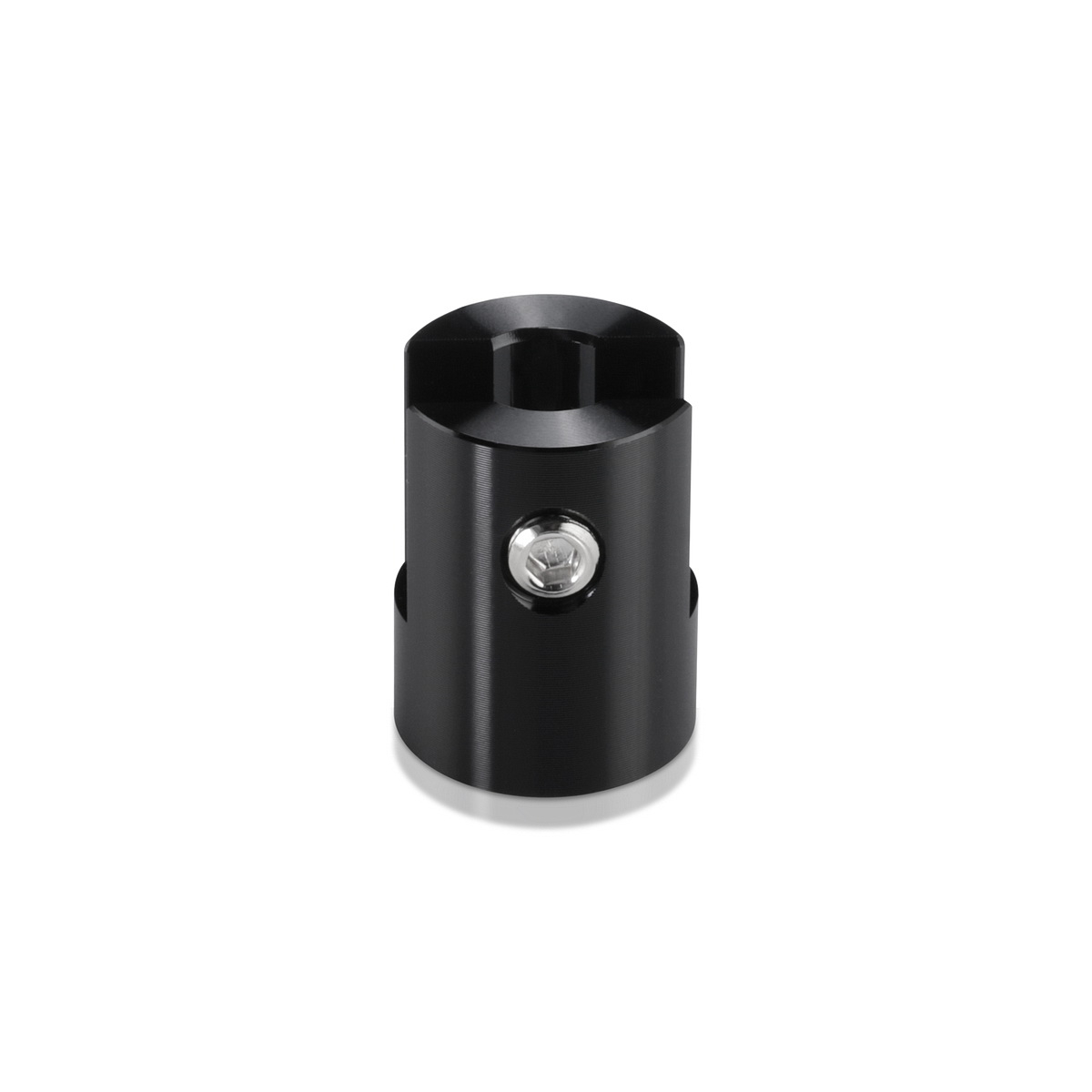 Aluminum Black Anodized Finish Projecting Gripper, Holds Up To 1/4'' Material