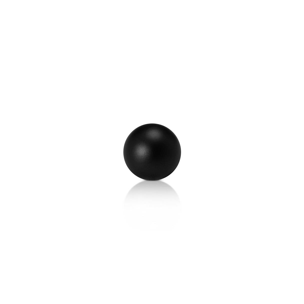Set of 2 End-Ball 5/8'' Diameter for  ''RSP' Projecting Sign Kit - Aluminum Black Matte Finish