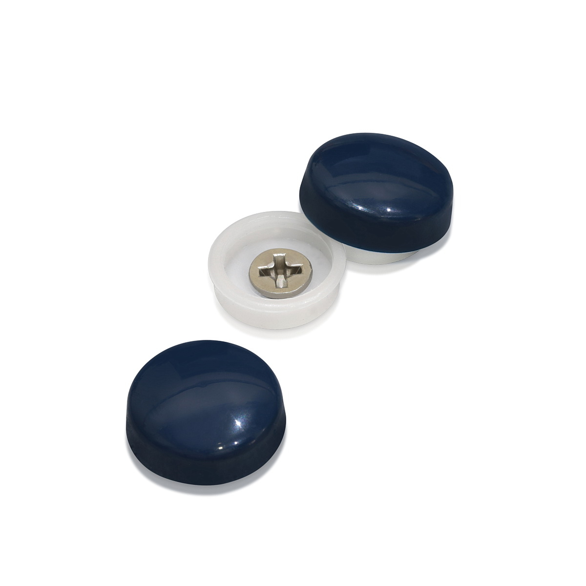 Snap-Cap For Screw #10 & #12 - Royal Blue Gloss