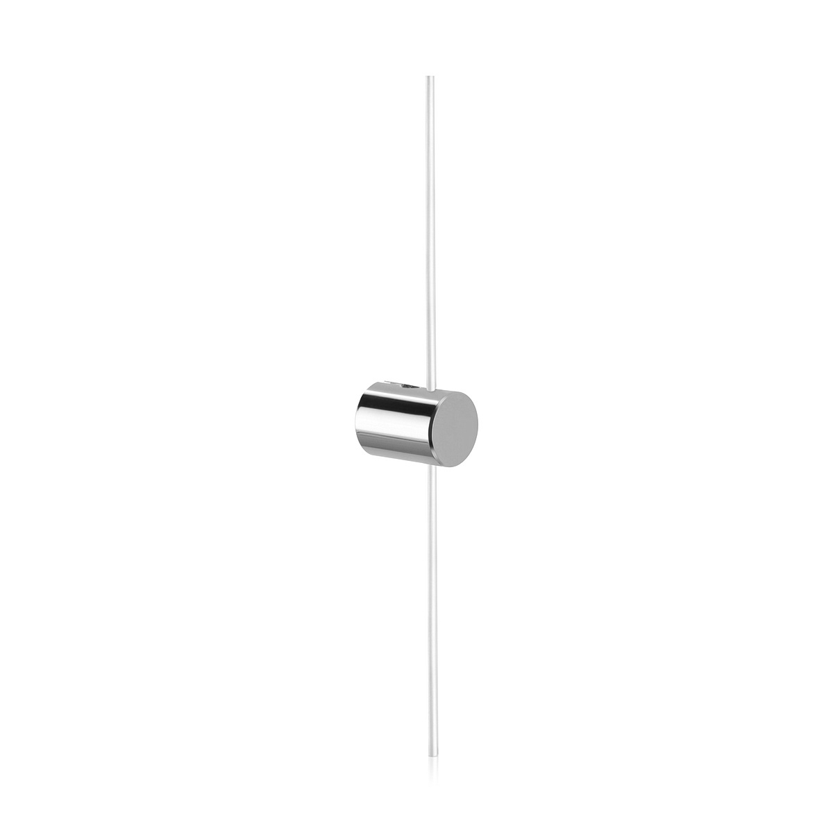 Right Wine Cellar Aluminum Cable Support one end Chrome Polished
