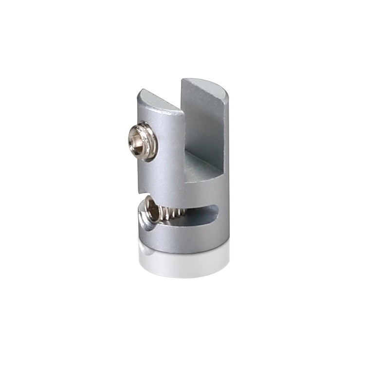 Vertical Support - Up to 3/16'' - Single Sided - Aluminum - For Cable