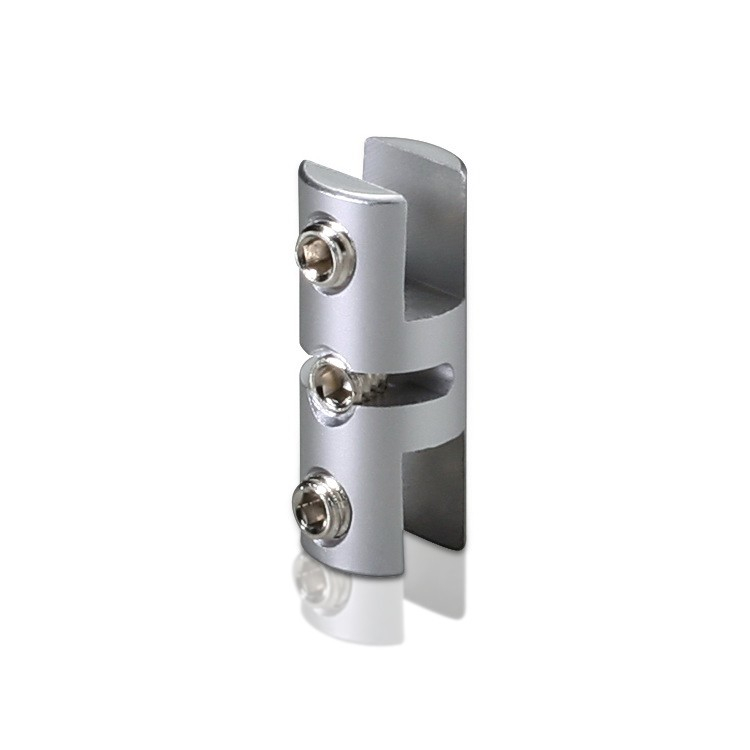 Vertical Support - Up to 3/16'' - Double Sided - Aluminum - For Cable