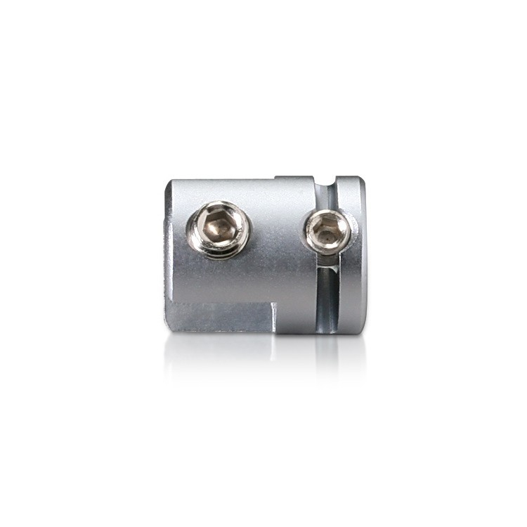 Vertical Support - Up to 3/8'' - Single Sided - Side Clamp - Aluminum - For Cable 1/8'' (3.0mm)