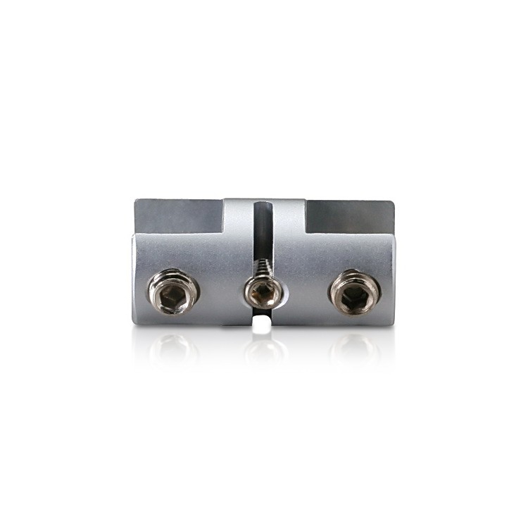 Vertical Support - Up to 3/8'' - Double Sided - Side Clamp - Aluminum - For Cable
