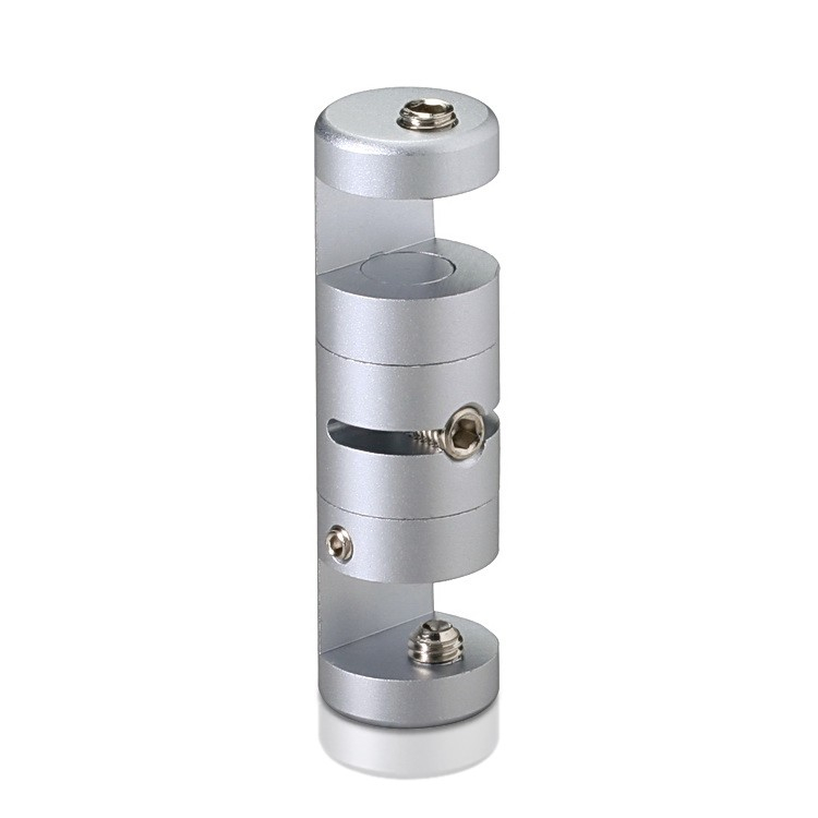 Pivoting Edge Support - Up to 3/8'' - Double Sided - Edge Grip - Aluminum - For Cable