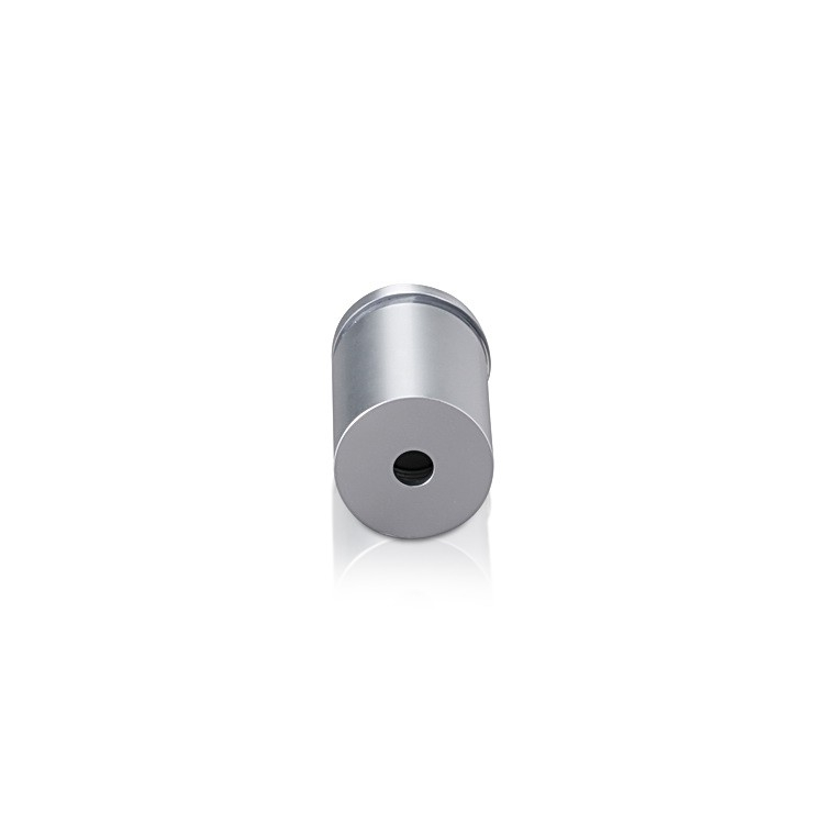 Aluminum Standoffs, Diameter: 3/4'', Standoff: 3/4'', Aluminum Clear Anodized Finish