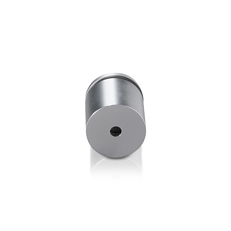 Aluminum Standoffs, Diameter: 1, Standoff: 1'', Aluminum Clear Anodized Finish
