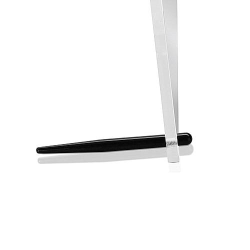 Aluminum Black Anodized Desktop Table Standoffs, Diameter: 1/4'' x 3''