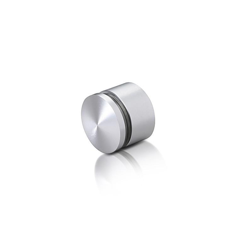 Aluminum Standoffs, Diameter: 1, Standoff: 1/2'', Aluminum Clear Anodized Finish