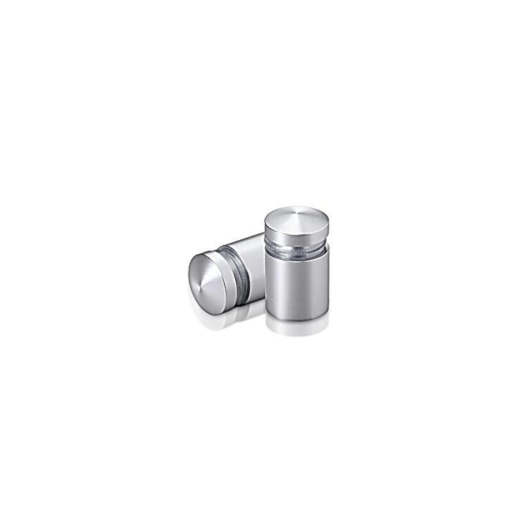 Aluminum Standoffs, Diameter: 1/2, Standoff: 1/2, Aluminum Clear Anodized Finish