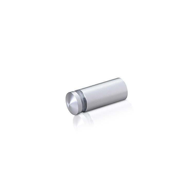 Aluminum Standoffs, Diameter: 1/2, Standoff: 1, Aluminum Clear Anodized Finish