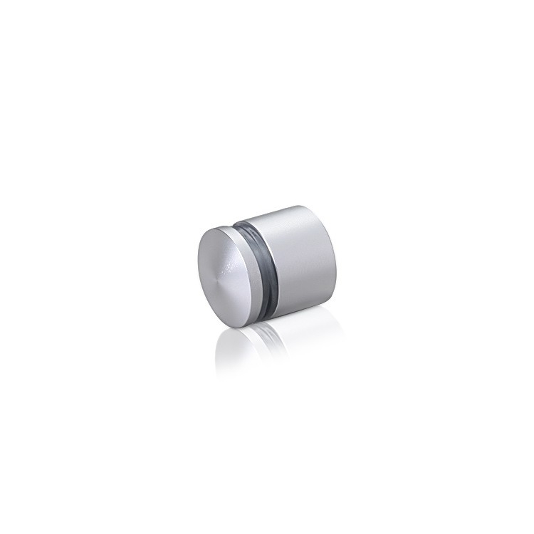Aluminum Standoffs, Diameter: 3/4'', Standoff: 1/2'', Aluminum Clear Anodized Finish