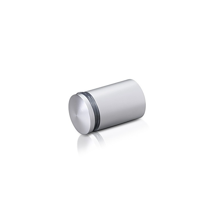 Aluminum Standoffs, Diameter: 3/4, Standoff: 1'', Aluminum Clear Anodized Finish