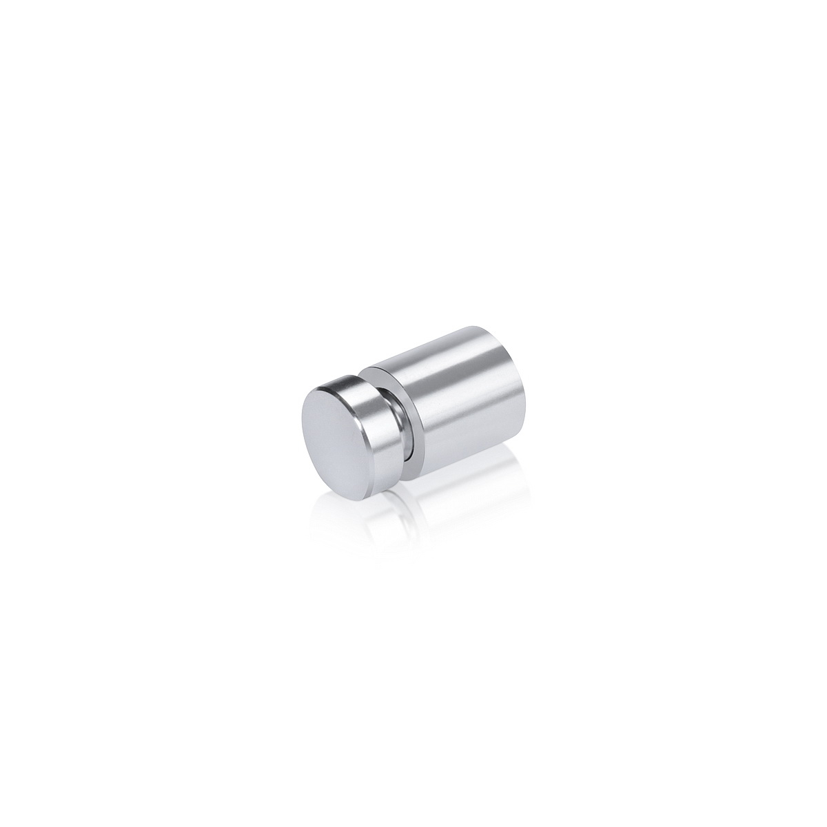 1/2'' Diameter X 1/2'' Barrel Length, Affordable Aluminum Standoffs, Silver Anodized Finish Easy Fasten Standoff (For Inside / Outside use)
