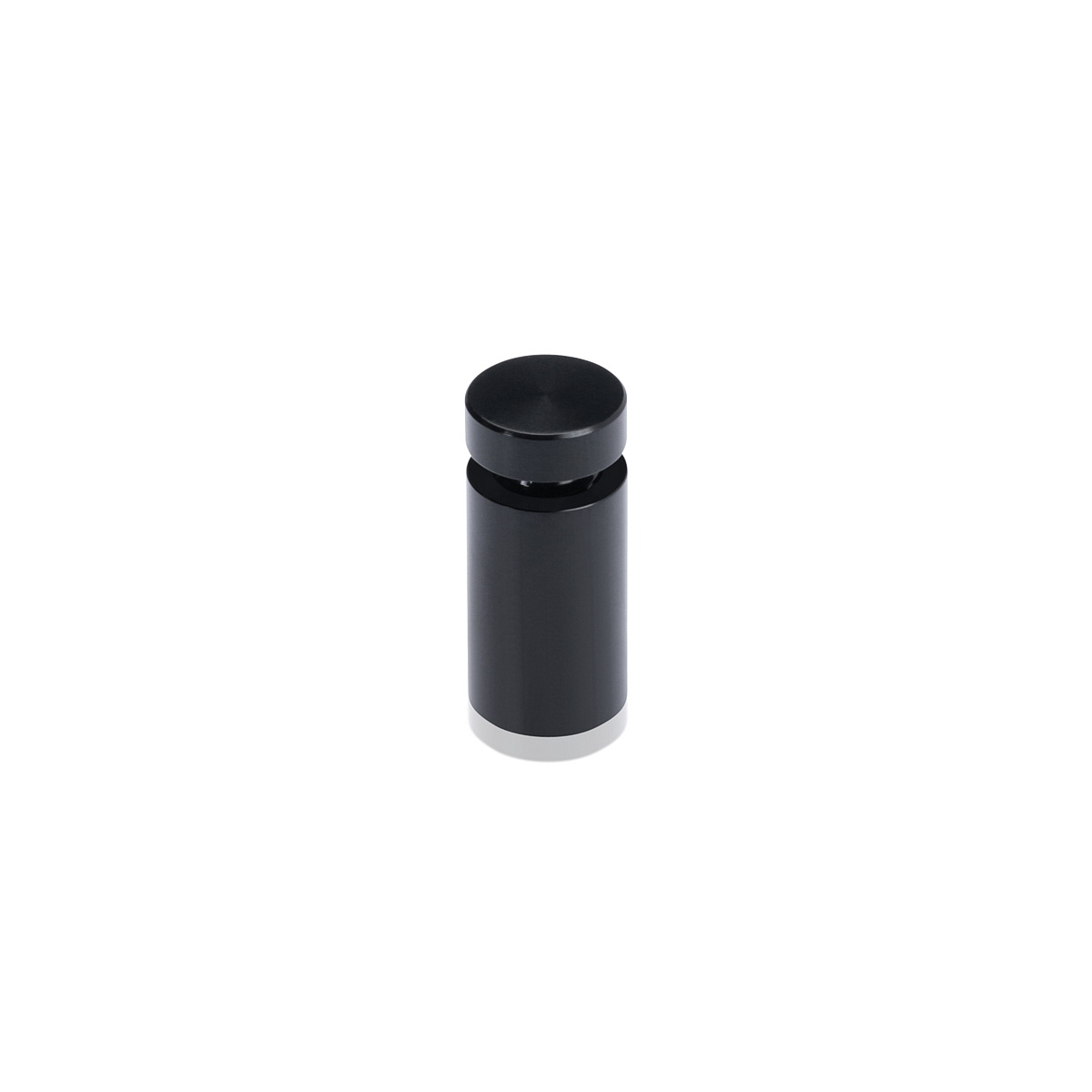 Affordable Aluminum Standoffs, Diameter: 1/2'', Standoff: 3/4'', Aluminum Black Finish