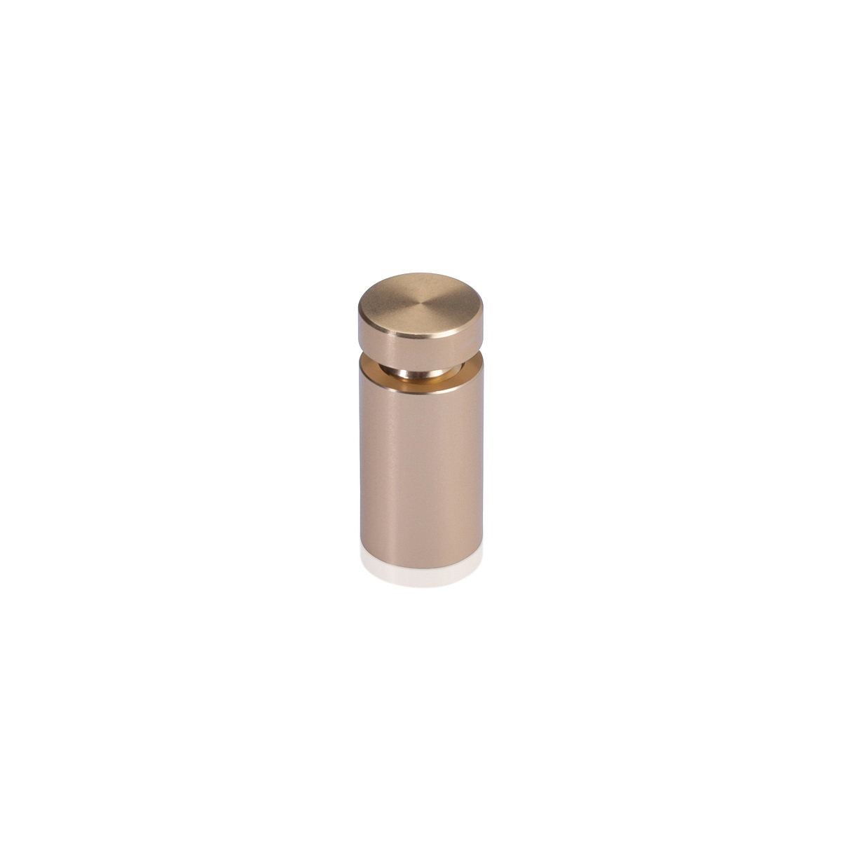 Affordable Aluminum Standoffs, Diameter: 1/2'', Standoff: 3/4'', Aluminum Champagne Finish