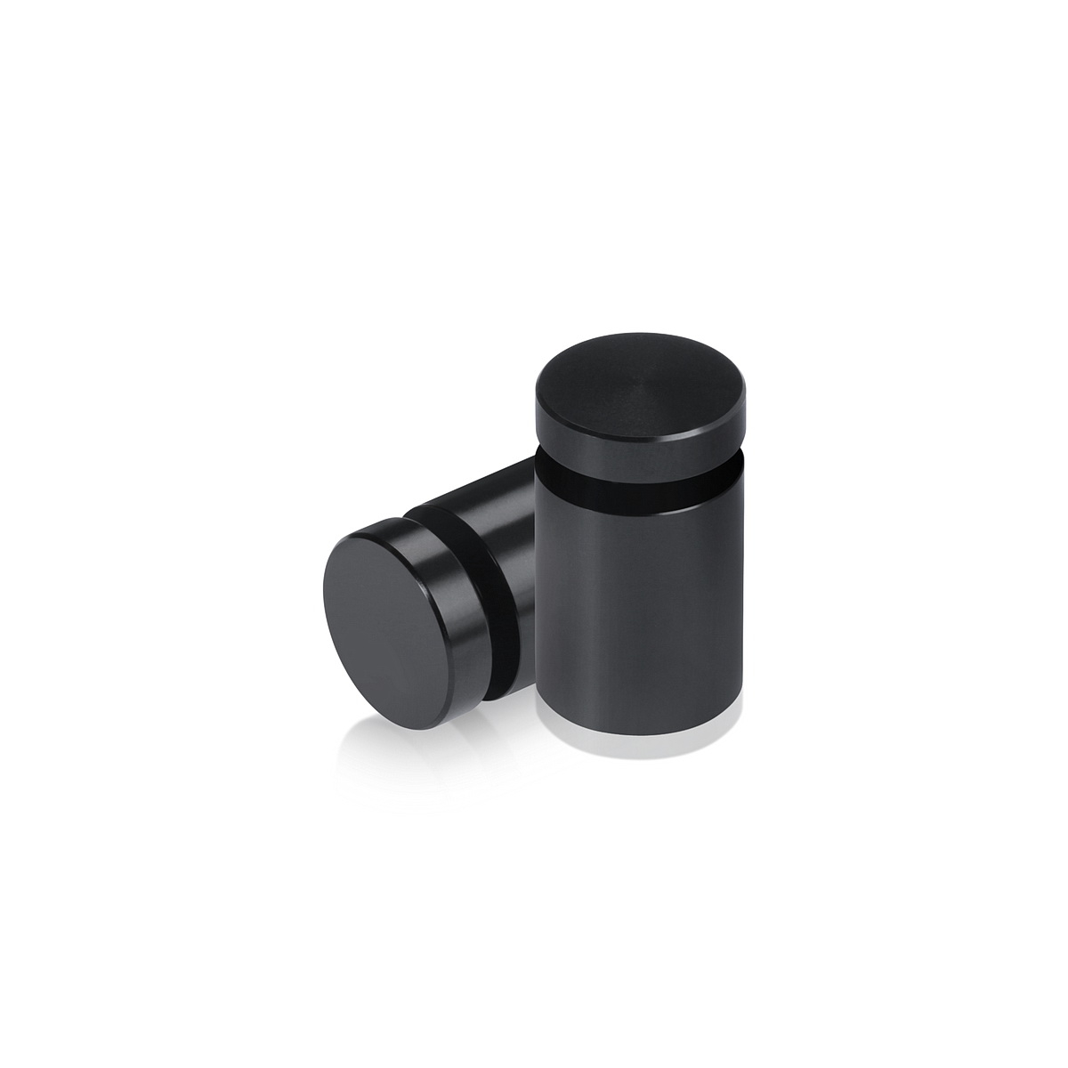 Affordable Aluminum Standoffs, Diameter: 5/8'', Standoff:  3/4'', Aluminum Black Finish