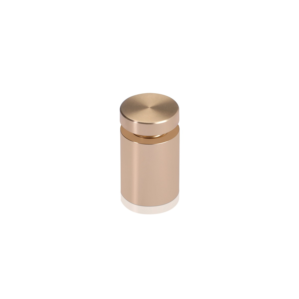 Affordable Aluminum Standoffs, Diameter: 5/8'', Standoff: 3/4'', Aluminum Champagne Finish