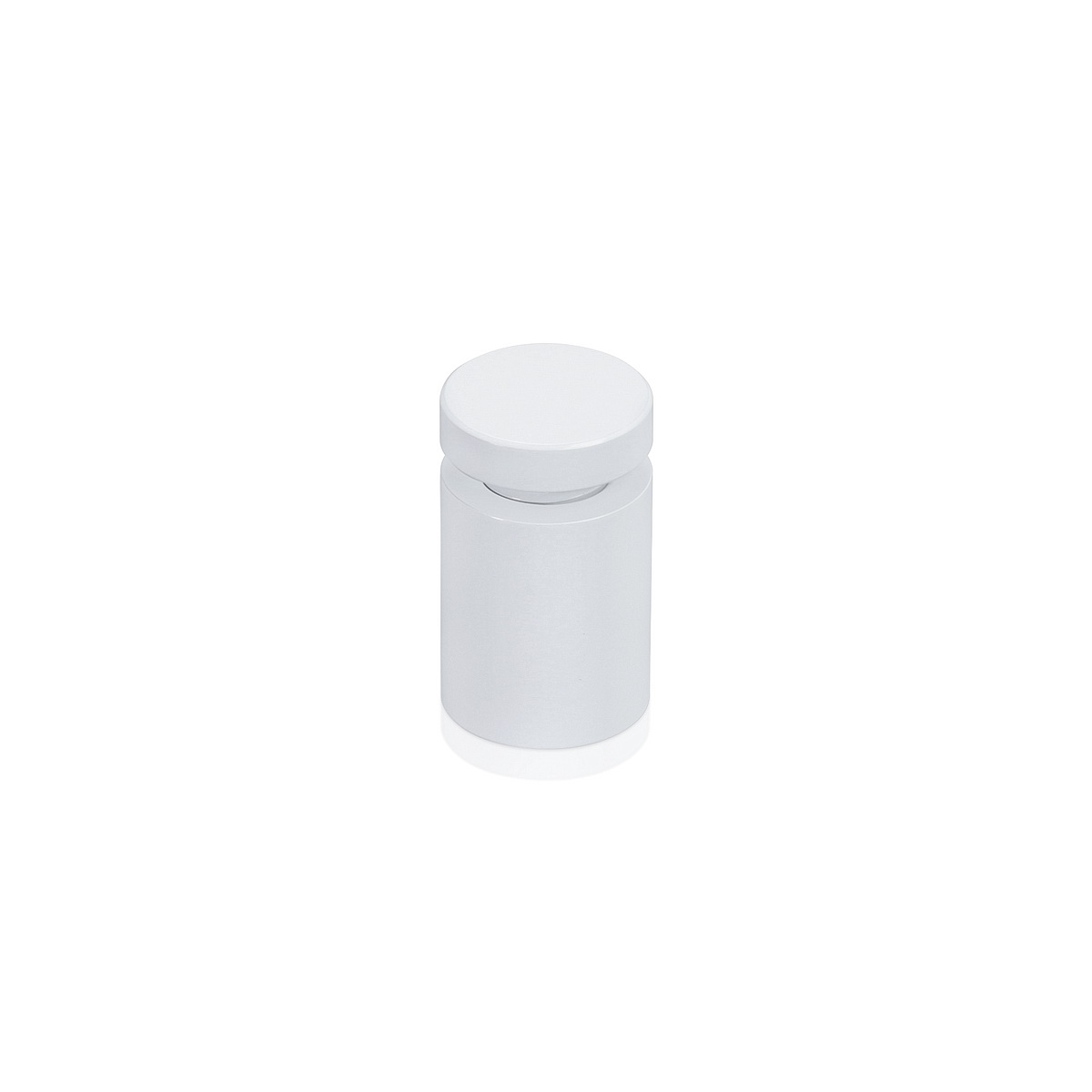 Affordable Aluminum Standoffs, Diameter: 5/8'', Standoff: 3/4'', Aluminum White Coated Finish