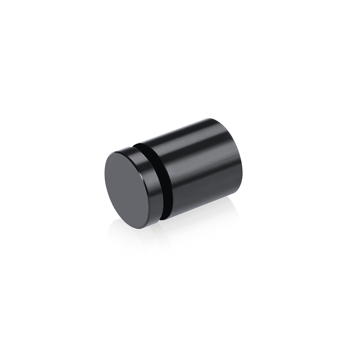 Affordable Aluminum Standoffs, Diameter: 3/4'', Standoff: 3/4'', Aluminum Black Finish