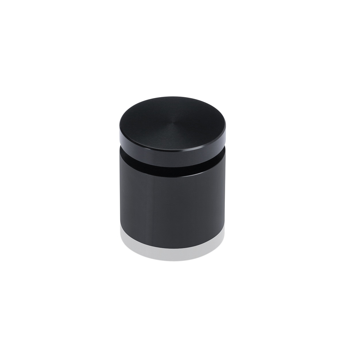 Affordable Aluminum Standoffs, Diameter: 1'', Standoff: 3/4'', Aluminum Black Finish