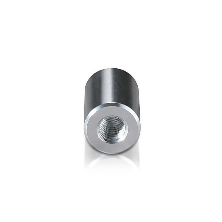 5/16-18 Threaded Barrels Diameter: 5/8'', Length: 1'', Clear Anodized