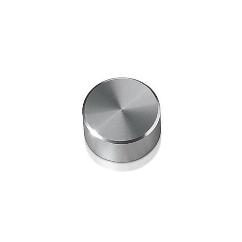 Caps Diameter: 5/8'', Height: 5/16'', Clear Anodized Aluminum