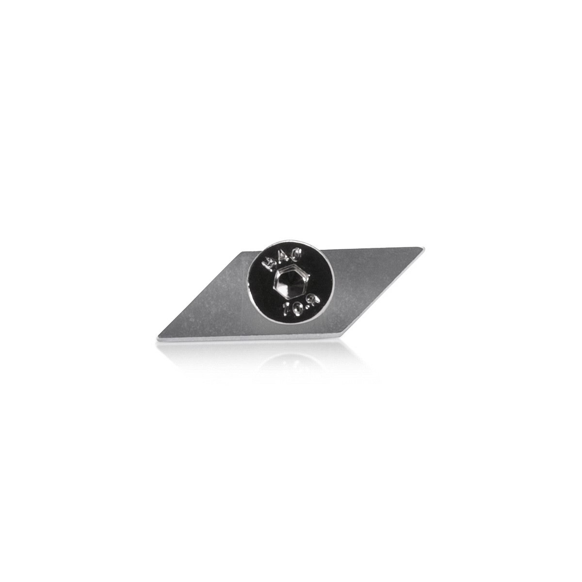 Diamond track fixing for Aluminum Profile