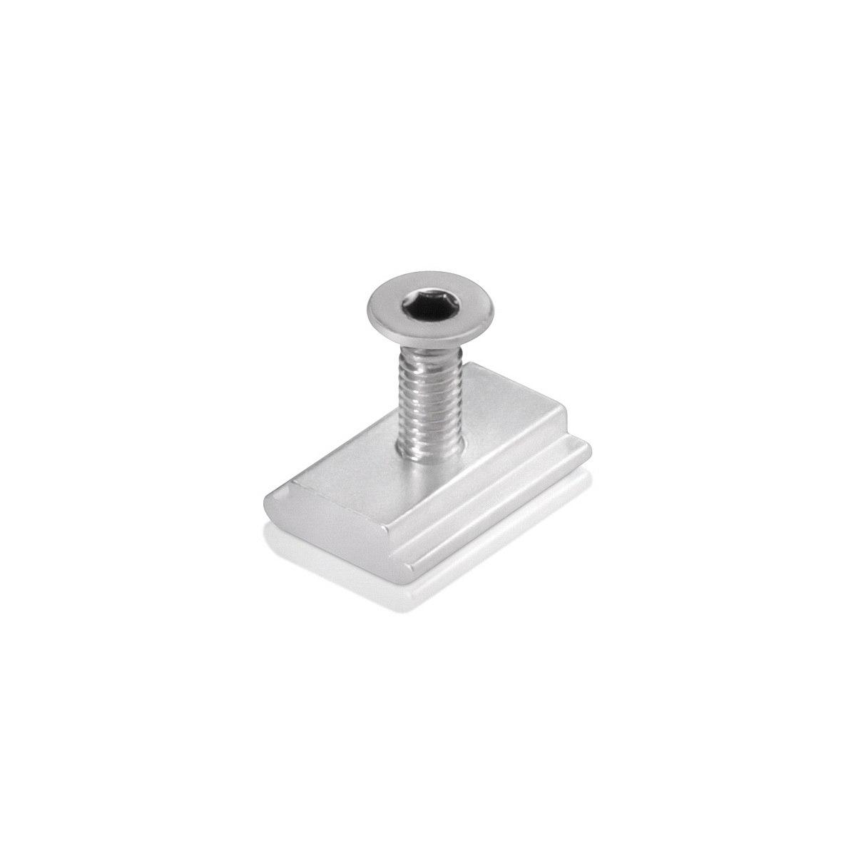 Rectangular track fixing for Aluminum Profile