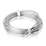 Galvanized Cable 1/16'' x 16' 4'' With Head