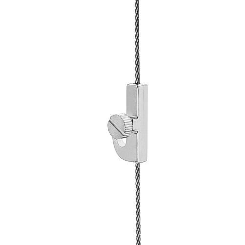 Crane Hook with Side Screw ''Nickel Plating'' Finish