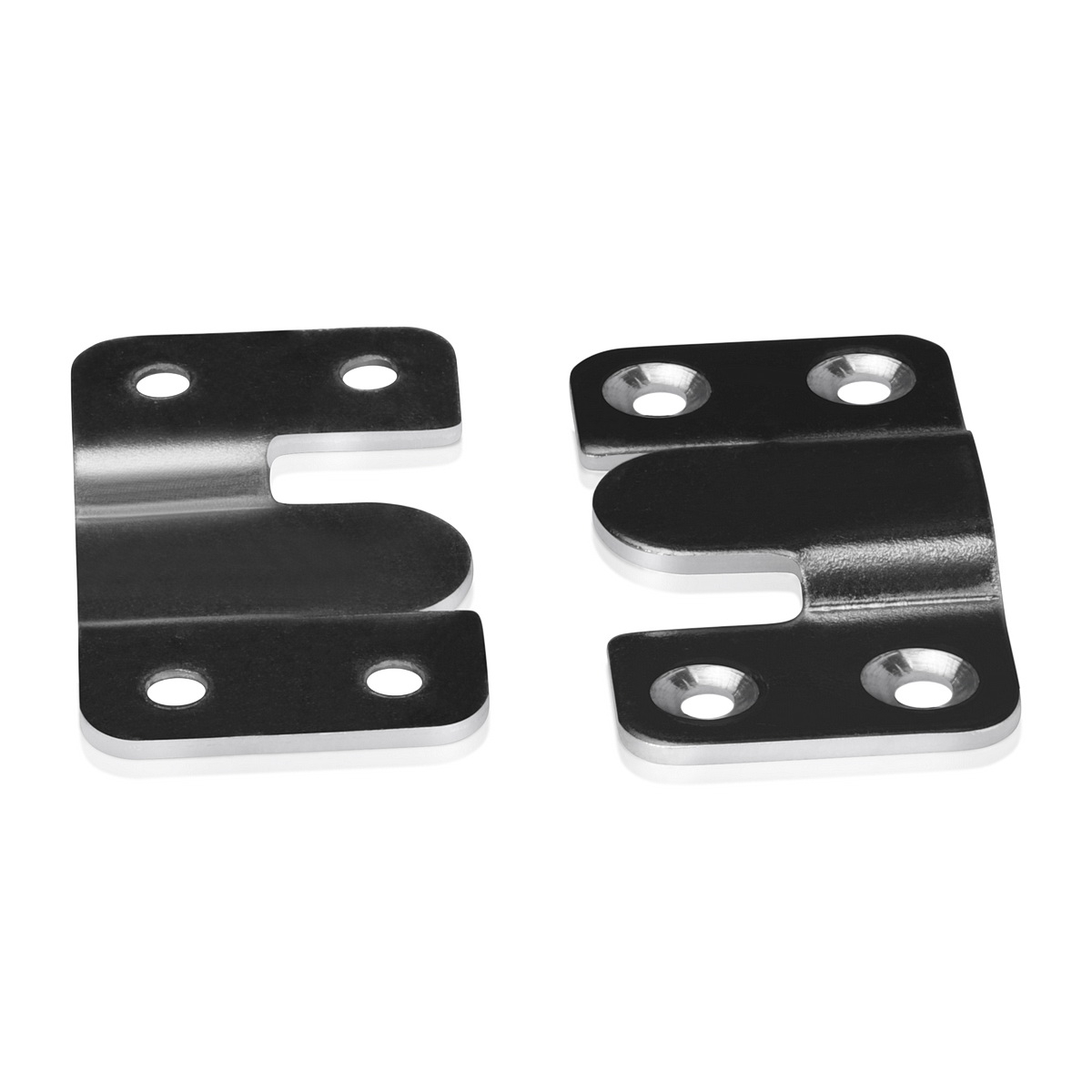 Big  Flush Mount Hanger (Pair), 2 1/6'' x 1 3/16''