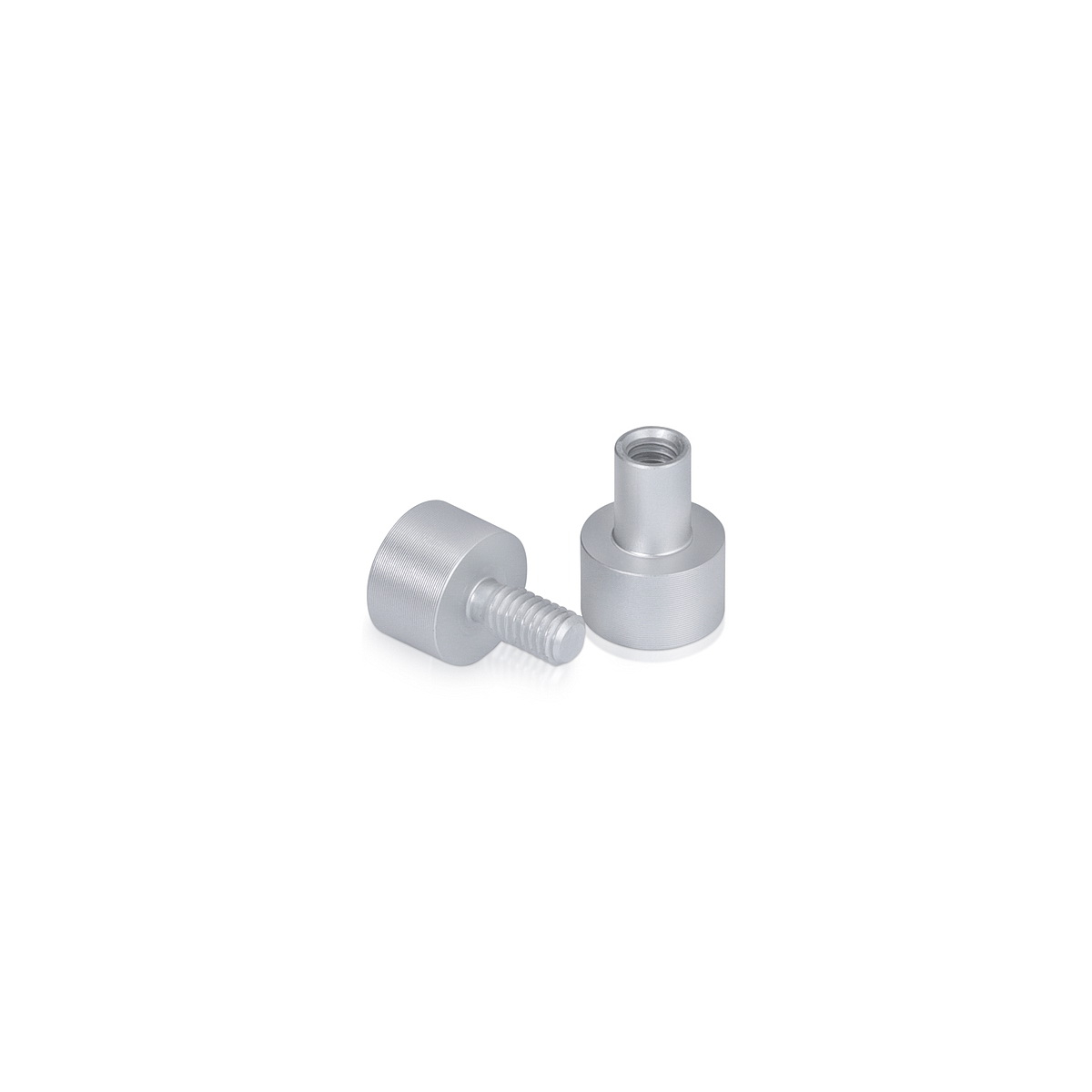 Material Connector Aluminum Clear Anodized
