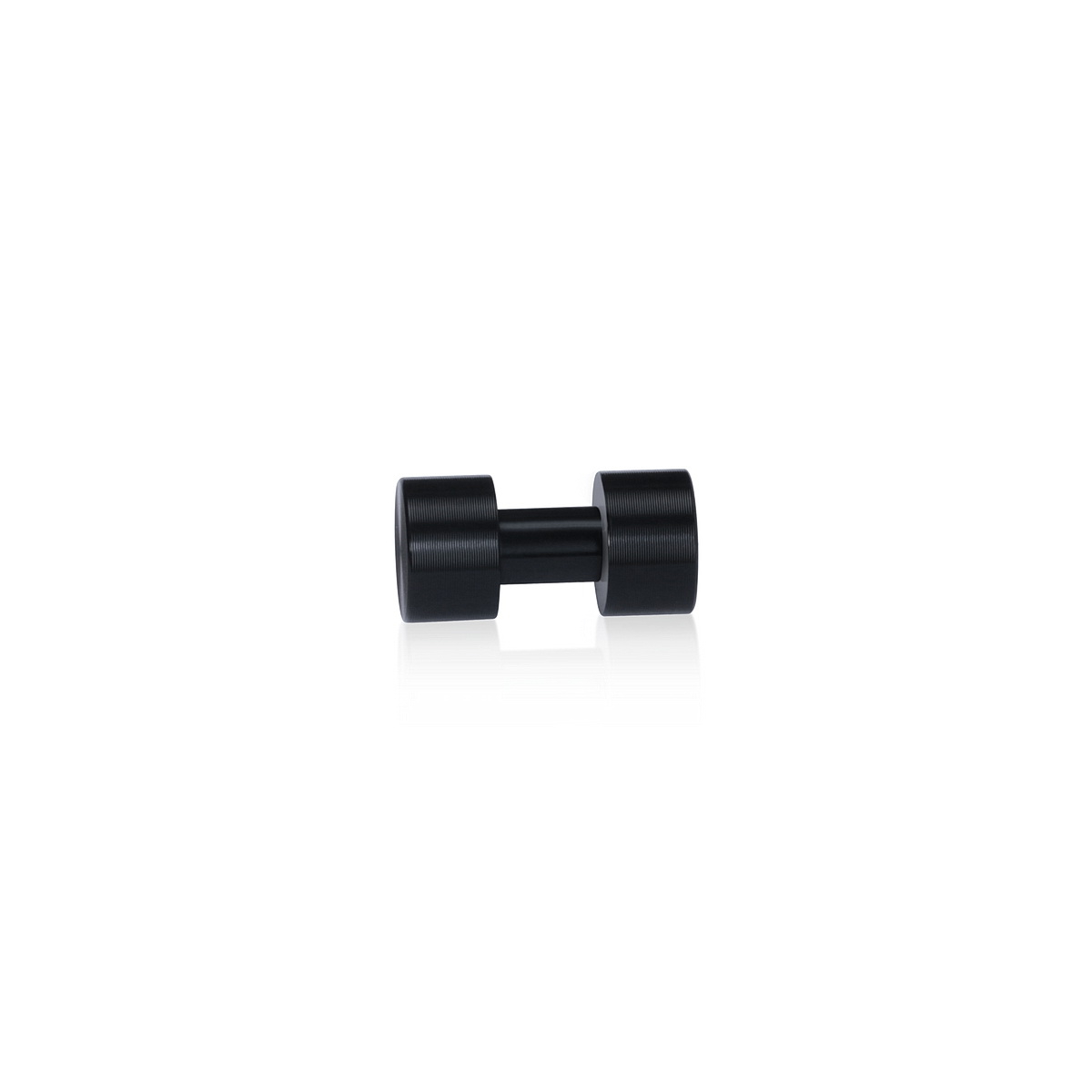 Material Connector Aluminum Black Anodized