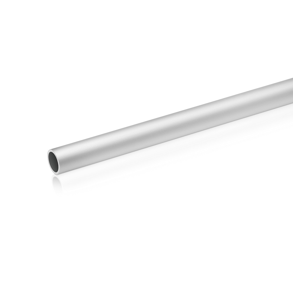 5/8'' Aluminum Clear Anodized Pipe Thick: 1/16'' (1.5mm) , Length: 36'' (Inside use only)
