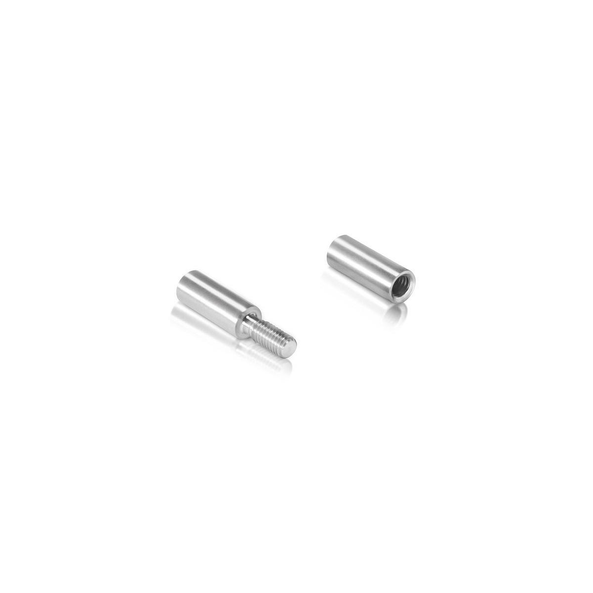 1/4'' Stainless Steel Rod End Screw Set (Inside use only)