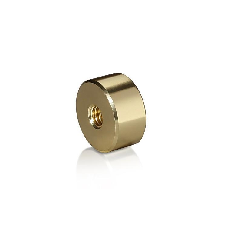 Aluminum Barrel Gold Anodized